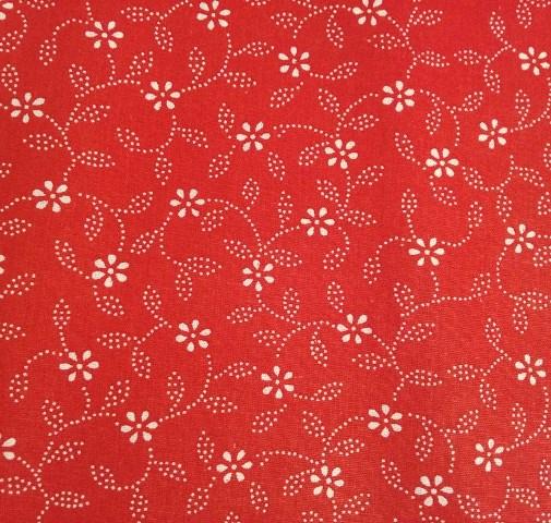 ac25621c2391 Folk sukna červená margarétka – babafolk.sk